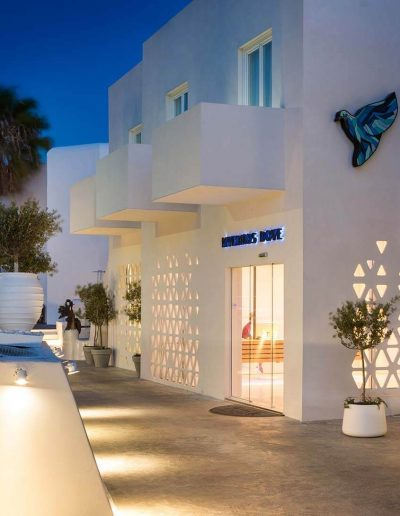 Mykonos Dove Entrance